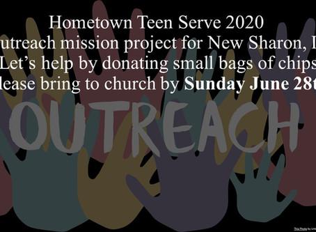 Hometown Teen Serve 2020
