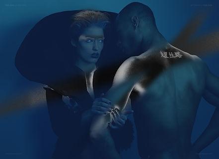Photography by Yulia Rock, designer Long Tran, fab face Sean Robinson