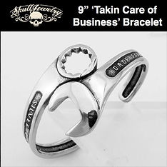 'Takin Care Of Business' Wrench Bracelet