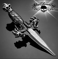 Pewter Double Dragon Dagger Pendant.JPG
