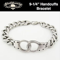 Keith Richards Inspired Handcuffs Bracel