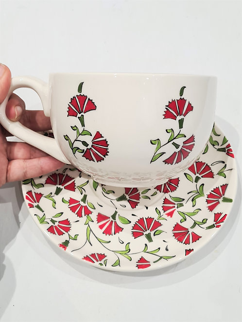 ONE BREAKFAST CUP & SAUCER SET