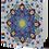 Thumbnail: Turquoise Circle Greeting Card