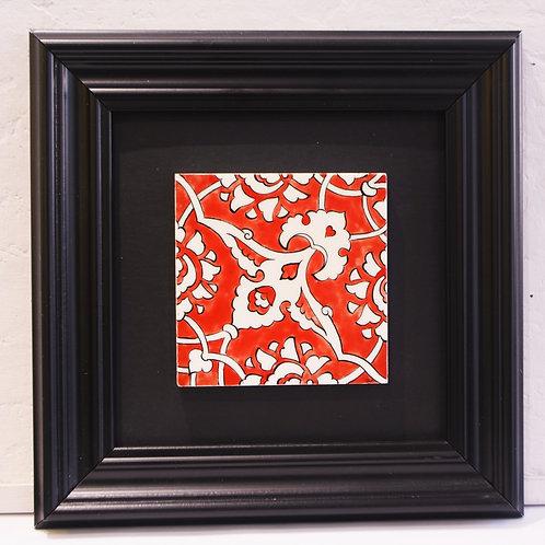 Red Rumi Ceramic Tile