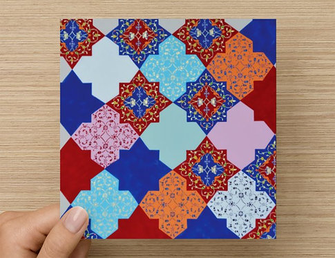 Patchwork Greeting Card