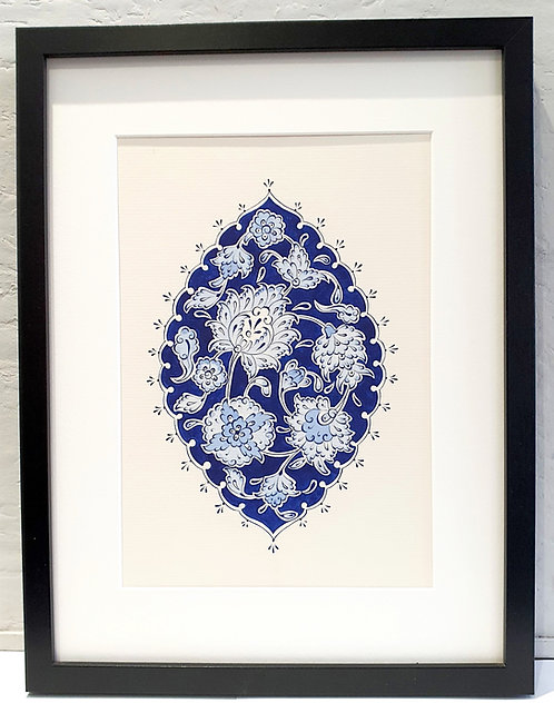 """""""Blue Leaves"""" without frame"""