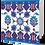 Thumbnail: Iznik Tiles Series No.2 Greeting Card