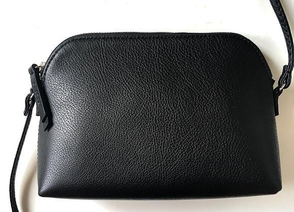 Minikin black basic (stříbrný zip)