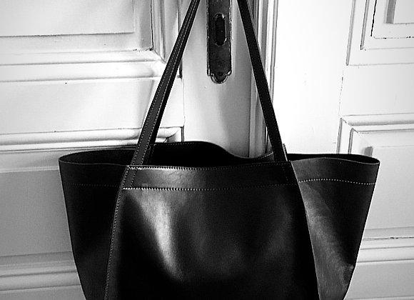 Shopping bag 02 edge black
