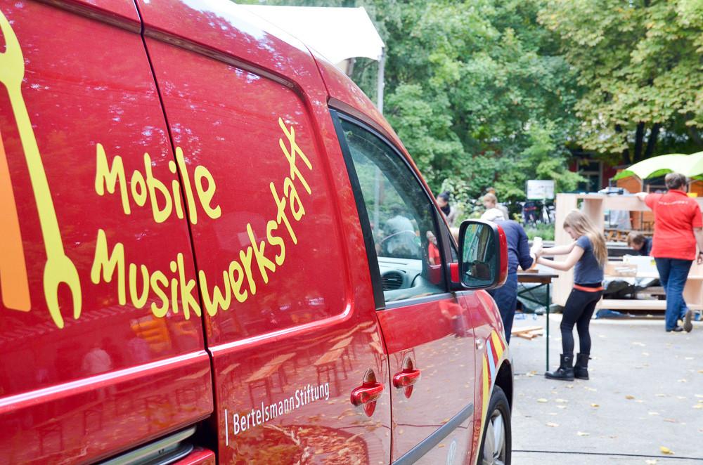 Mobile Musikwerkstatt