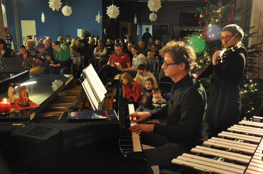 Weihnachtssingen, Westerlandmusikschule, Konzert, Schüler, Weihnachten