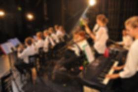 Konzert, Big Band, Schüler, Musik, Instrumente