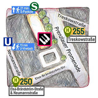 Anfahrt Westerlandschule, Adresse
