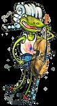 Frosch, Musik