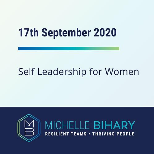 Self Leadership 17th September 2020
