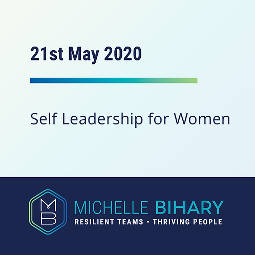 Self Leadership 21st May 2020