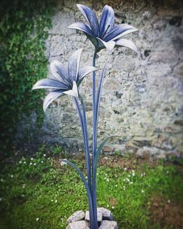 Stargazer Lily Sculpture