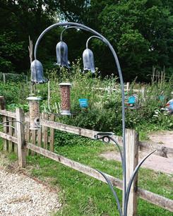 Bluebell bird feeder