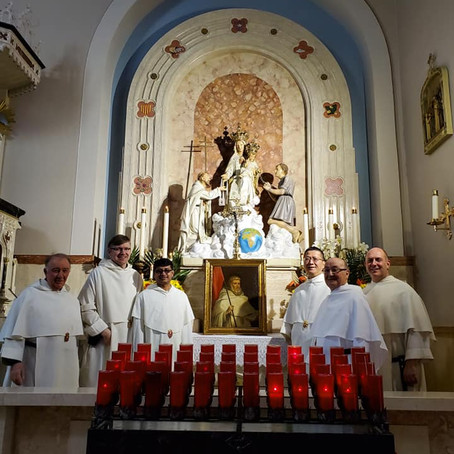 Mercedarians Celebrate the Feast of their Founder