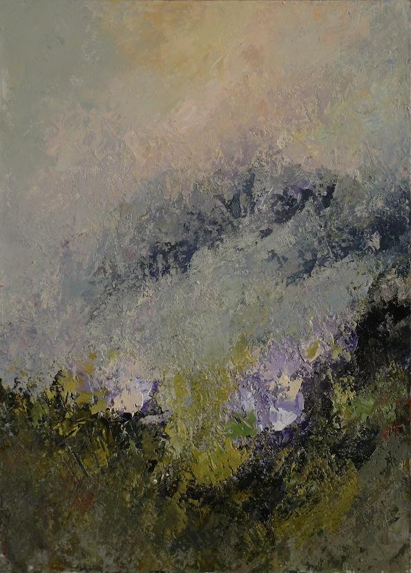 Trasparenze II, 2011. Acrilico su tela 70x50