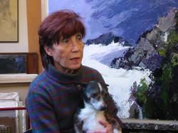S.T. con il cane Nuri, 2012