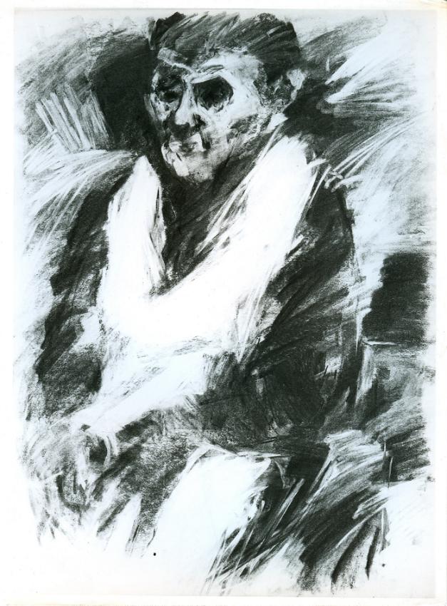 La Severina 1963. Disegno carbone e Conté 70x50