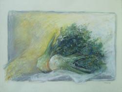 Verdura 1984. Pastello 42x62