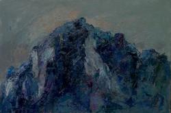 Monte San Martino VII, 1998. Acrilico su tela 80x120