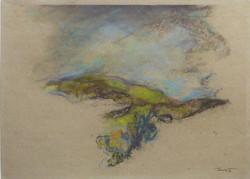 Provenza 1990 III. Pastello su carta Provence 29,7x42