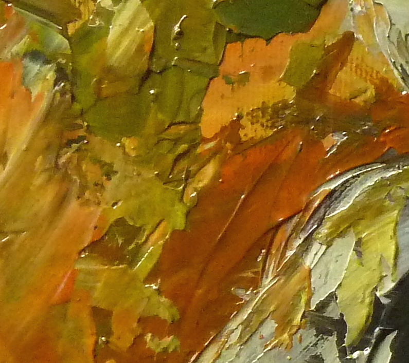 Teddy Bear n. 14, particolare. Acrilico su tela 2016, 30x30.