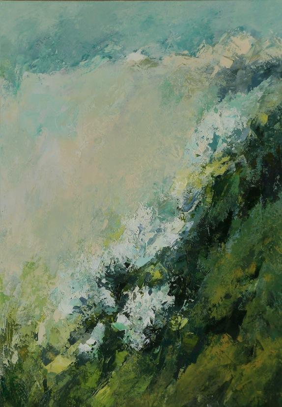 Luminoso, 2011. Acrilico su tela 100x70