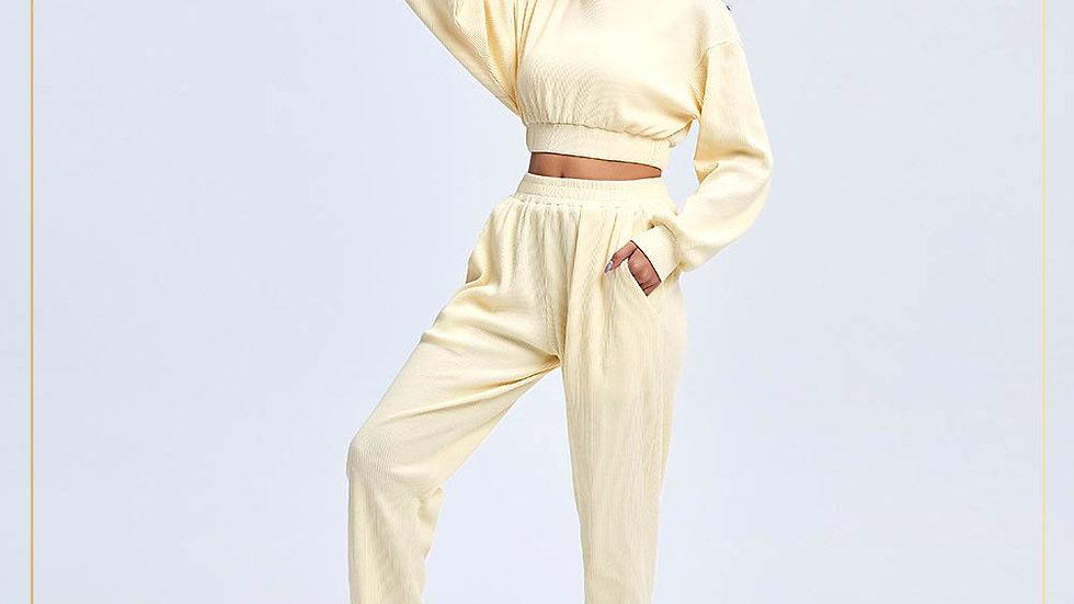 Sweat jogger women santai lazy clothes keren 4 yoga or hangout (Set B10)
