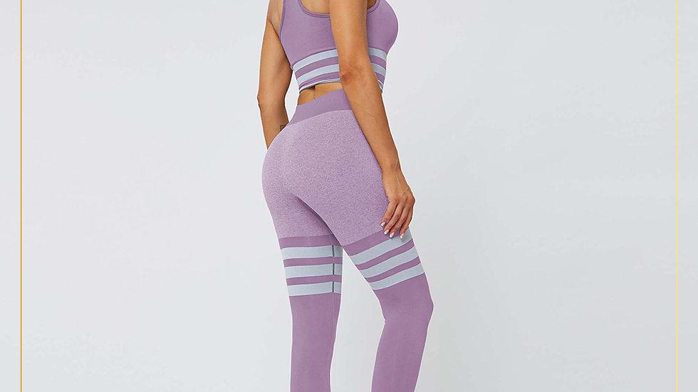 Setelan Olahraga Wanita Fitness Training Zumba Yoga Gym (Set A4)