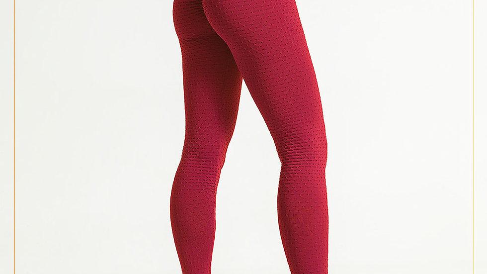 Celana Panjang Olahraga Wanita Spandex dengan scruff pantat u/ Fitness (Pants M)