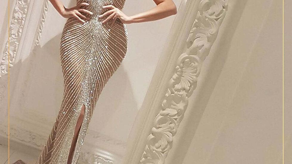 Gaun Pesta Dress Panjang Long dress Party Import (Longdress E)