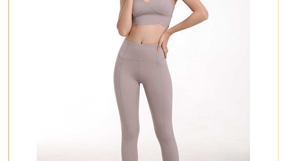 Setelan Olahraga Legging Zumba Gym Fitnes Yoga Wanita aerobik (Set B1)