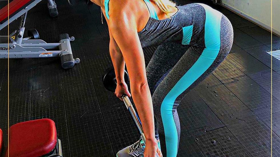 Jumpsuit Wanita Yukensi Celana Panjang Spandex Fitbody (Jumpsuit E)