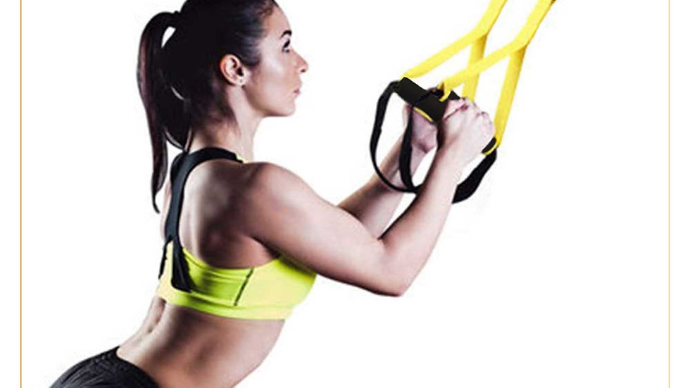 Trx cable suspension training cable for Workout From Home (TRX cable A)