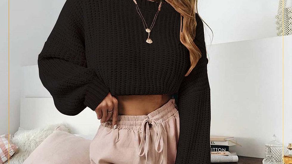 Sweater Wanita Lengan Panjang Material Dingin dan Tebal (Sweater A)