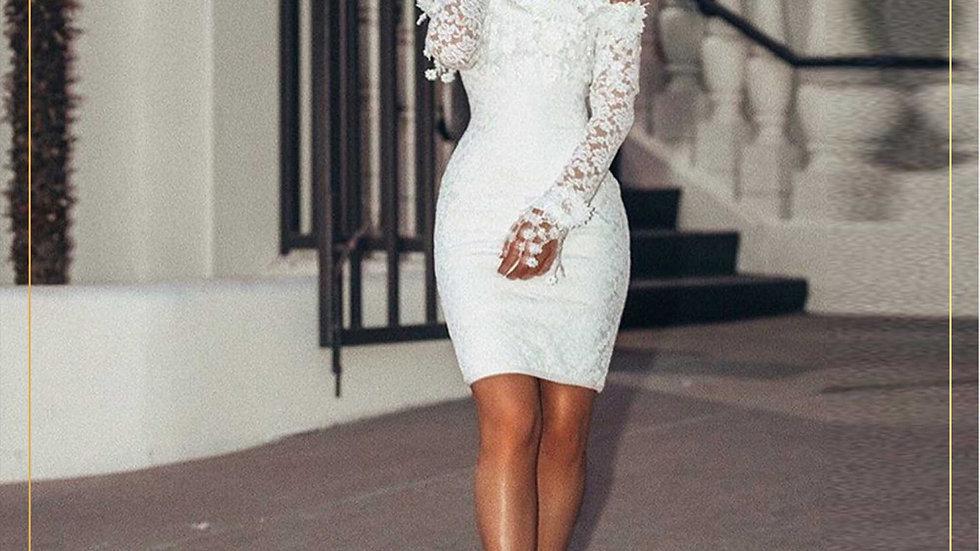 Dress Midi Wanita Import Pesta Elegant Cantik Lucu (Dress J)