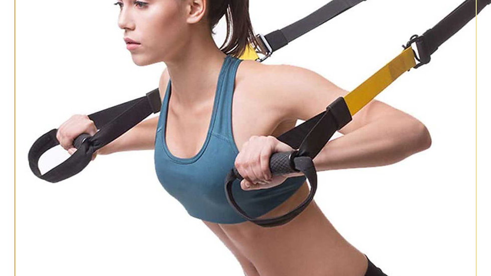 Trx suspension training cable High Quality for Workout From Home (TRX cable B)