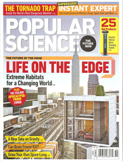 POPULAR SCIENCE COVER OCTOBER 2010