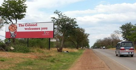 KFC opens its doors in Victoria Falls with Altmedia Outdoor as its preferred Outdoor advertising par