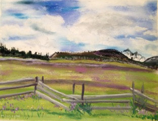 Rocky Mountain Fenceline