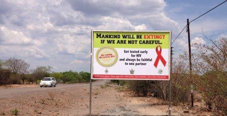 National AIDS Council of Zimbabwe promotes AIDS awareness with Altmedia Outdoor.