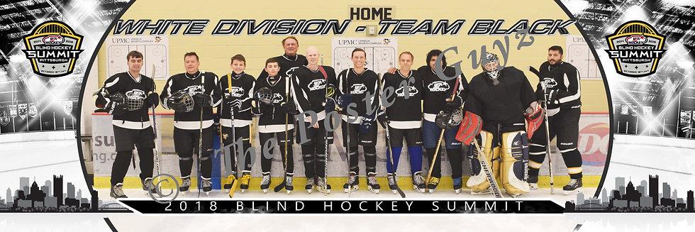 Blind Hockey White Division - Team Black