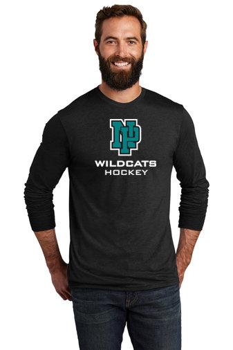 NP Wildcats-Allmade Recycled Long Sleeve Shirt-NP Logo