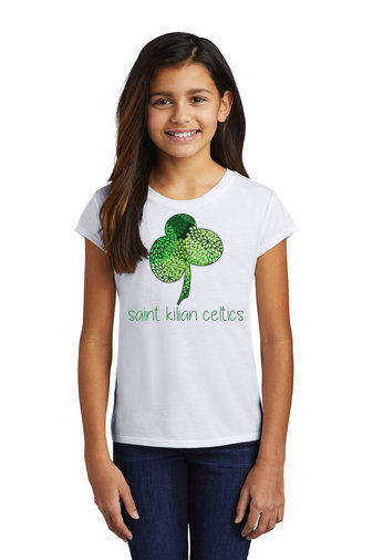 SaintKilian-Girl's Tri-Blend T-shirt