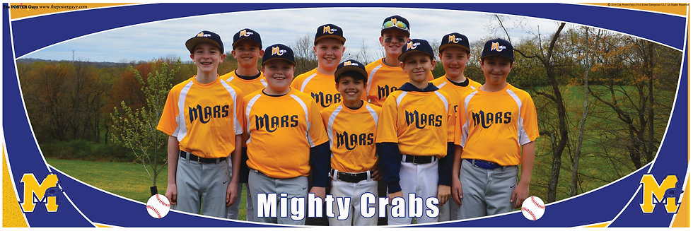 Mighty Crabs Bronco