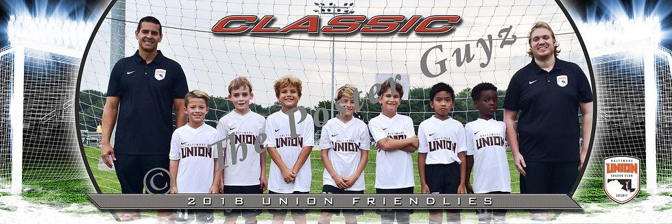 Baltimore Union Classic 09 Orange BU10